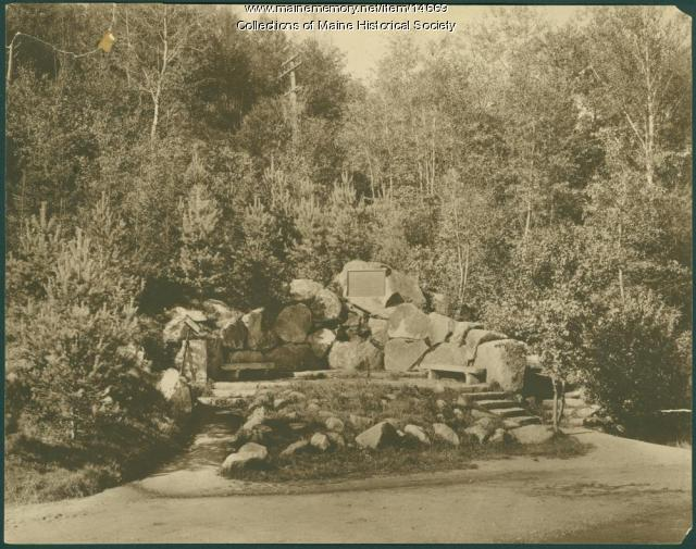 Anderson memorial, Bretton Woods, N.H.