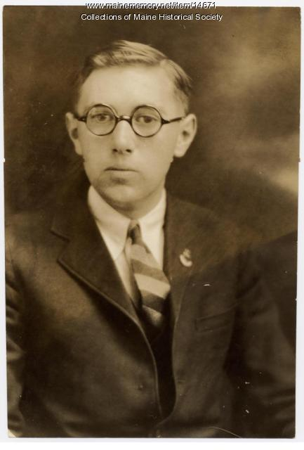 William A. Allen, Portland, ca. 1928