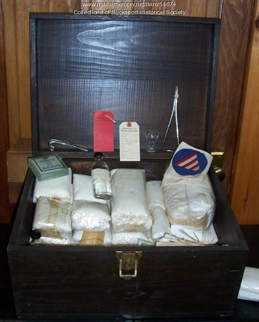 Military medical kit, Bucksport, ca. 1918