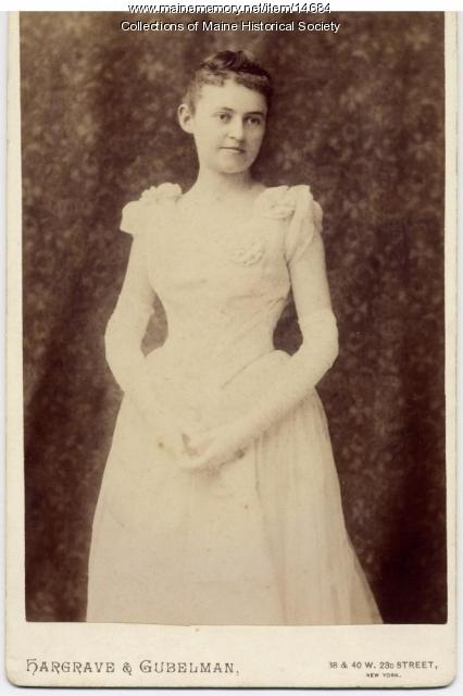 Mary Preble Anderson, Portland, ca. 1900