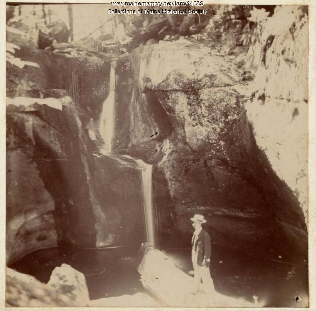 D. Eugene Chaplin at Albany Basins, ca. 1900