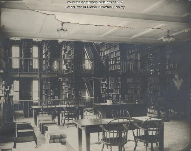 Maine Historical Society Research Library, Portland, ca. 1907