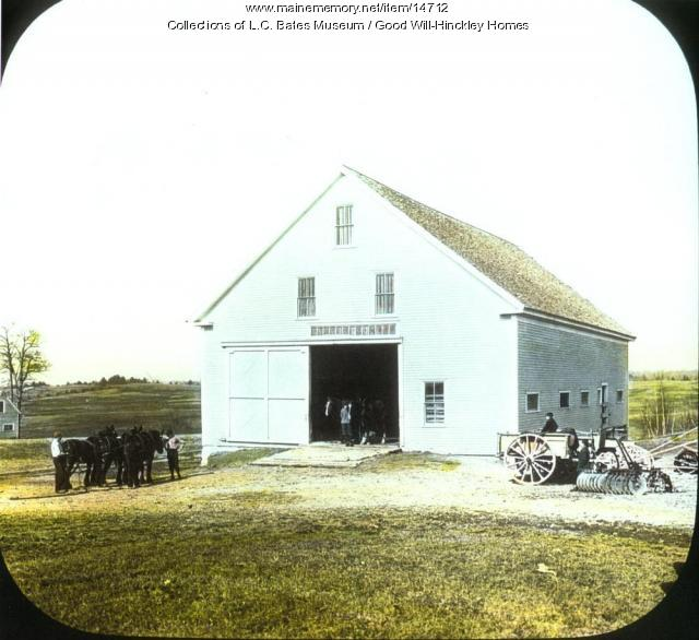 Barn at Good Will Homes, Fairfield, ca. 1915