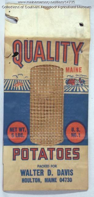 Quality Potatoes, Houlton, c. 1960