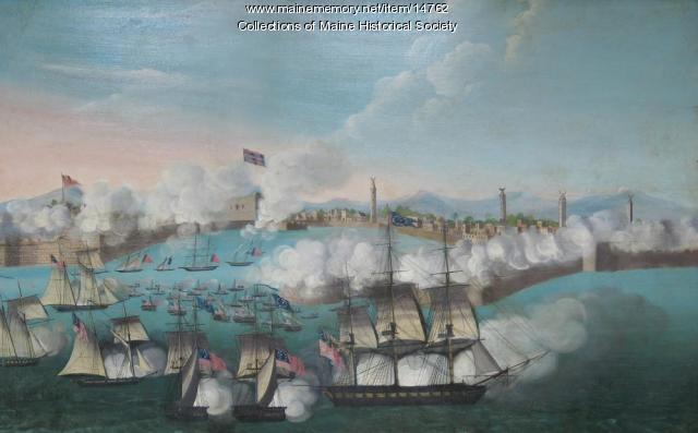 Battle of Tripoli, July 25, 1804