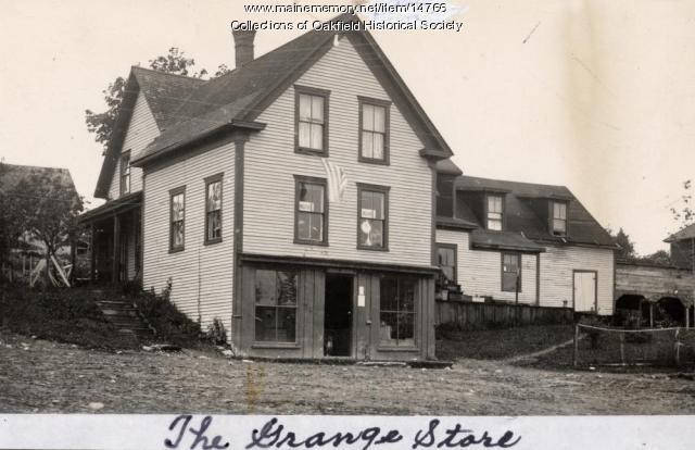 Smyrna Mills Grange Store, ca. 1896