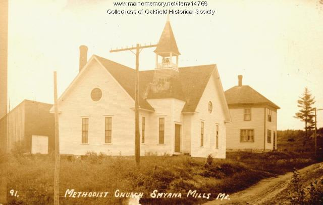 Smyrna Mills Methodist Church, ca. 1915