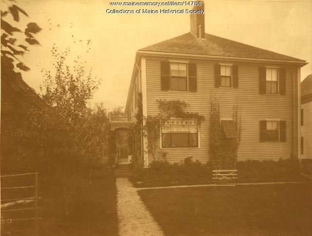 Home of Mervin Clark, Portland, ca. 1898