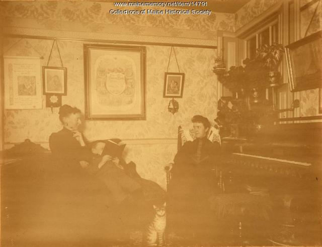 Chaplins, South Portland, ca. 1895