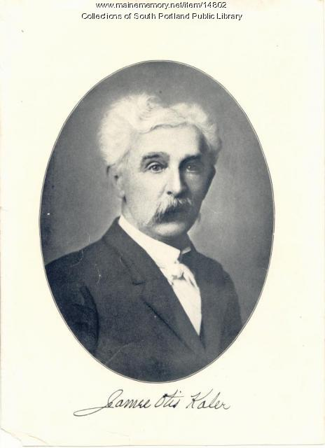 James Otis Kaler, South Portland, ca. 1905