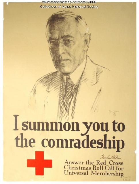 I summon you to the comradeship, World War 1 poster, 1918