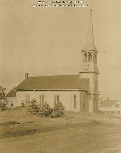 First Baptist Church, South Portland,  ca. 1930