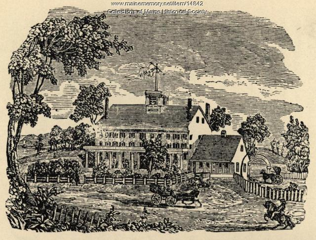 The Verandah Hotel on Martin's Point, 1847