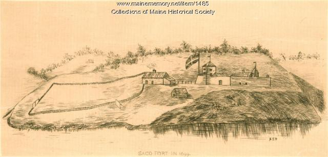 Saco fort, 1699