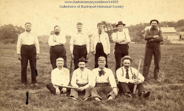 Baseball team, Bucksport, ca. 1910