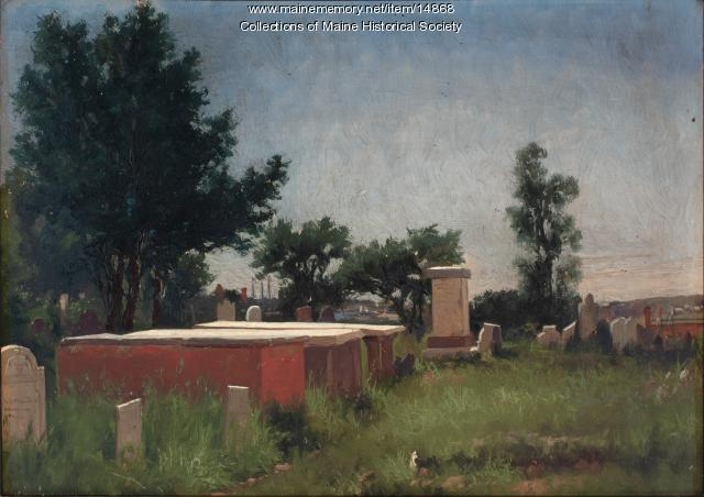 Graves of the Captains, 1876