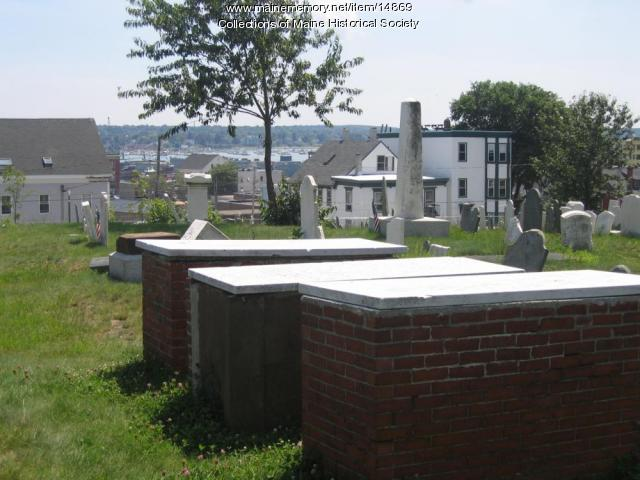 Graves of the Captains, 2004