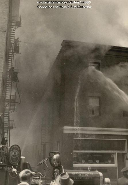 Windsor Hotel fire, Bangor, 1950