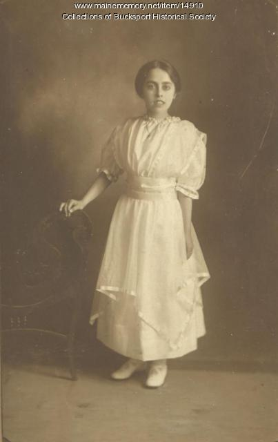 Alice Beal, Bucksport, ca. 1913