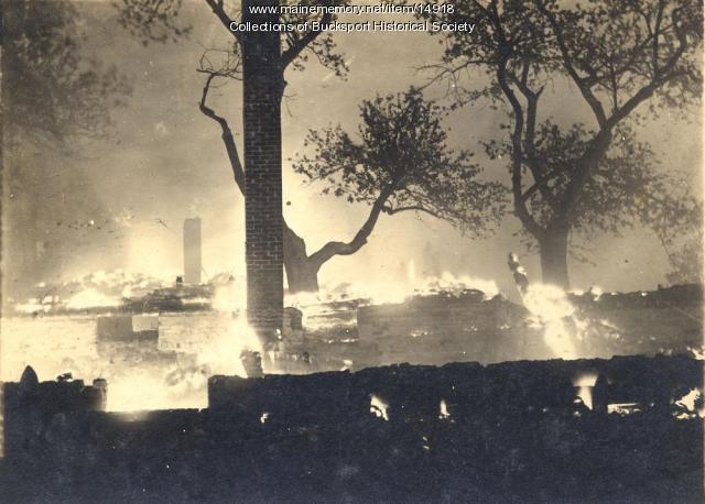 Bucksport Fire 1915