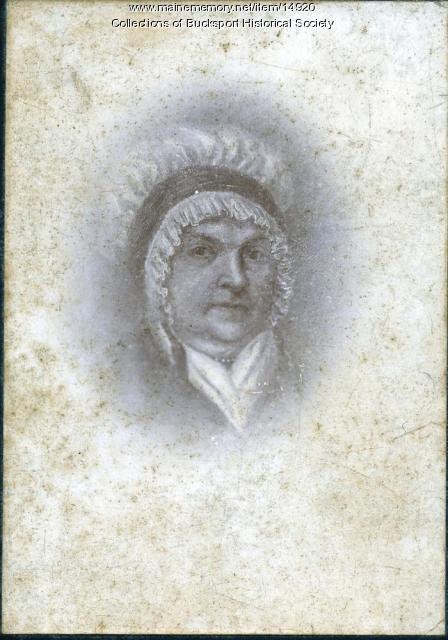 Hannah Gale, Bucksport, ca. 1880