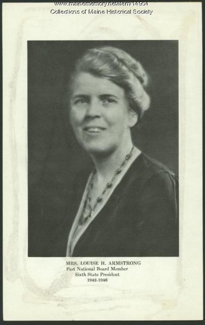 Louise Holden Armstrong, Portland, ca. 1942