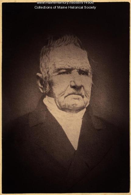 Parson Caleb Bradley, 1850