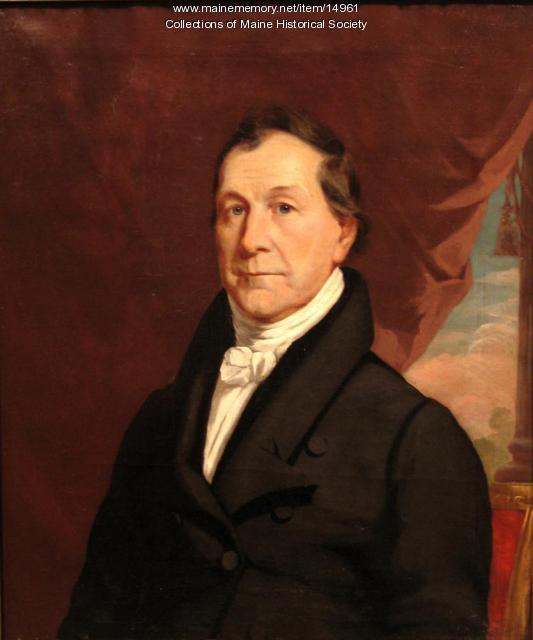 Portrait, Isaac Ilsley, 1826