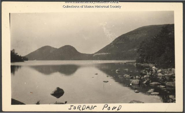 Jordan Pond, 1927