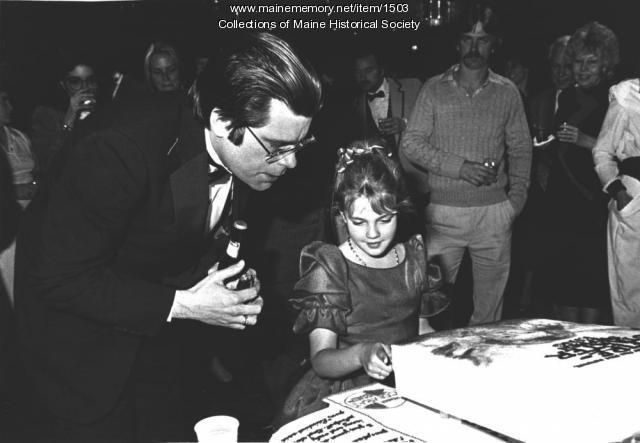 Stephen King, Drew Barrymore, Bangor