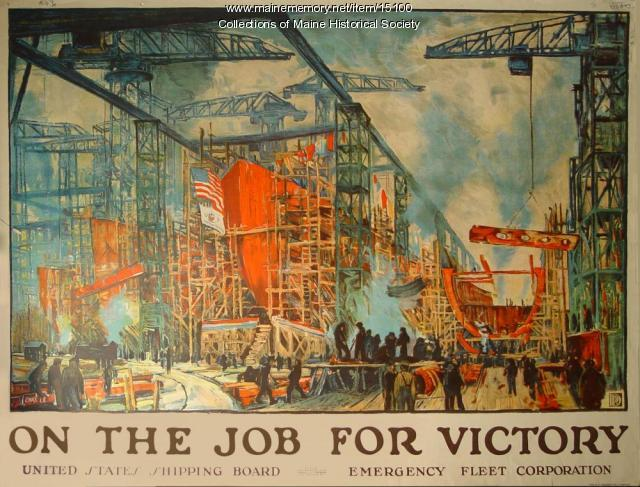 World War I manufacturing poster, 1918