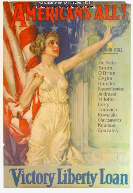 Victory Liberty Loan poster, ca. 1919