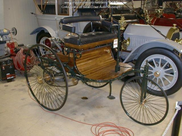 Replica of the 1885 Benz