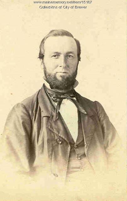 Captain P.A. Griffin, Searsport, 1863
