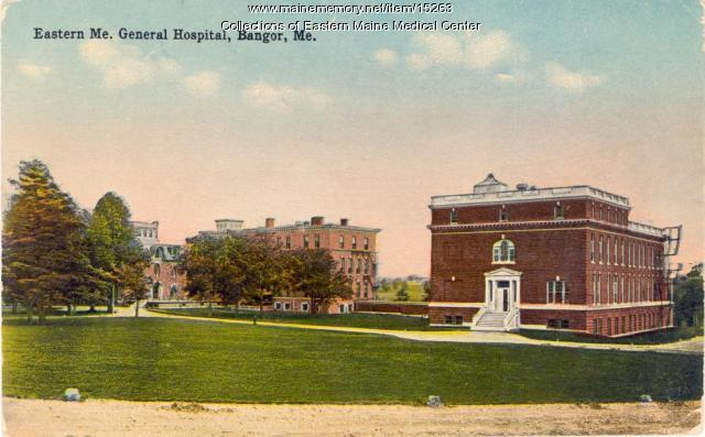 Eastern Maine General Hospital, ca. 1910