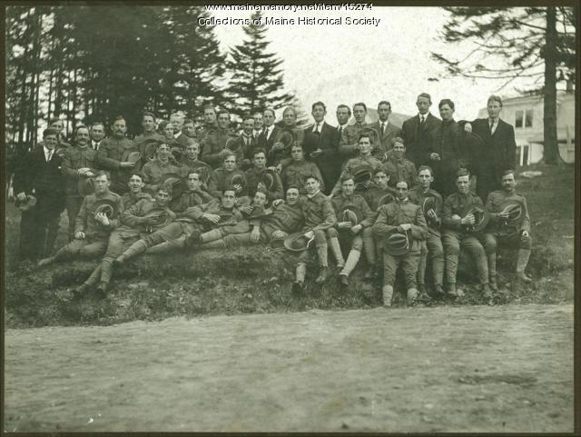 Portland Light Infantry, Long Island, 1909