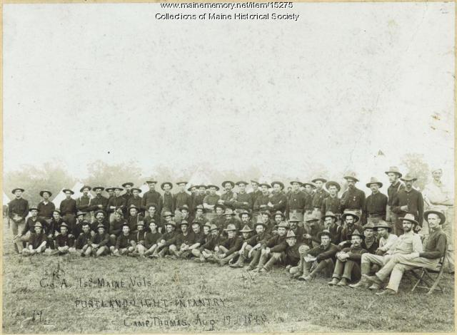 1st Maine Volunteers, Georgia, 1898