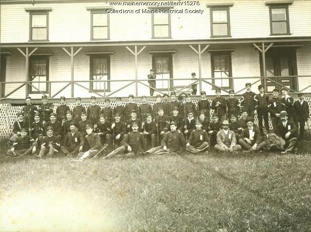 Light Infantry, Long Island, 1901