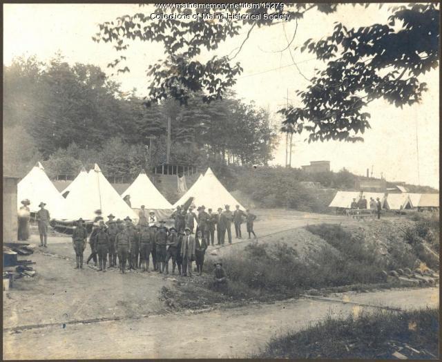 Coastal Artillery Corps companies, Fort McKinley, 1909