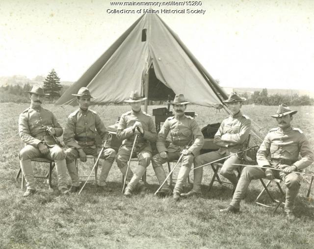War maneuvers commanders, 1903