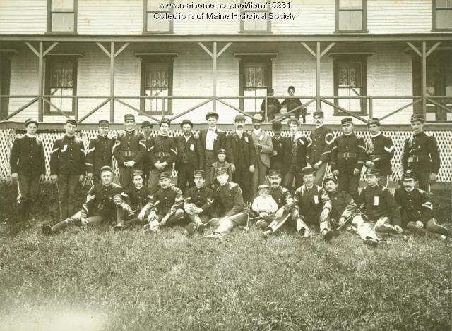 Portland Light Infantry, Long Island, 1901