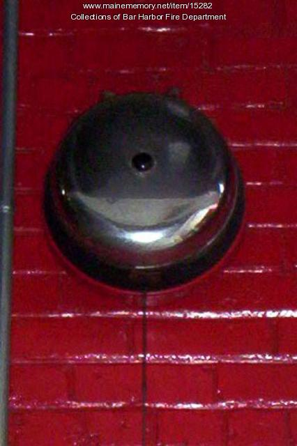 Bar Harbor Fire Department Bell
