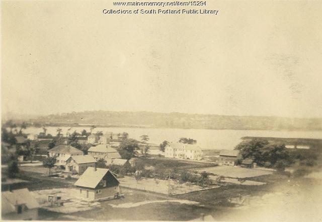 Portland and South Portland, 1923