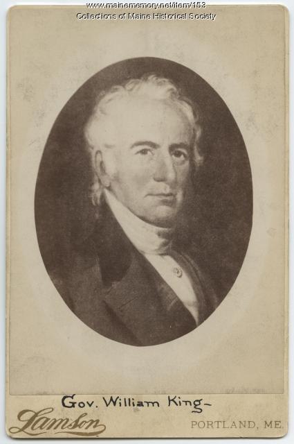 Gov. William King (1768-1852)