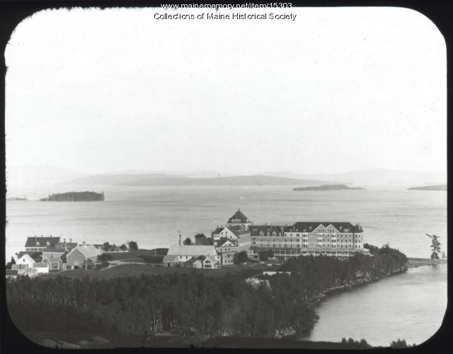 Kineo village, Moosehead Lake, ca. 1900