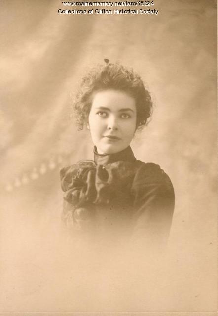Ruth Penney Jordan, Clifton, ca. 1870