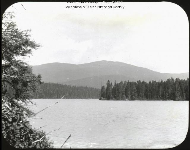 L Pond, Franklin County, ca. 1900