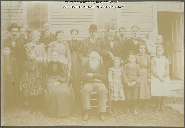 Cyrus F. Burnell Family, Baldwin, ca. 1908