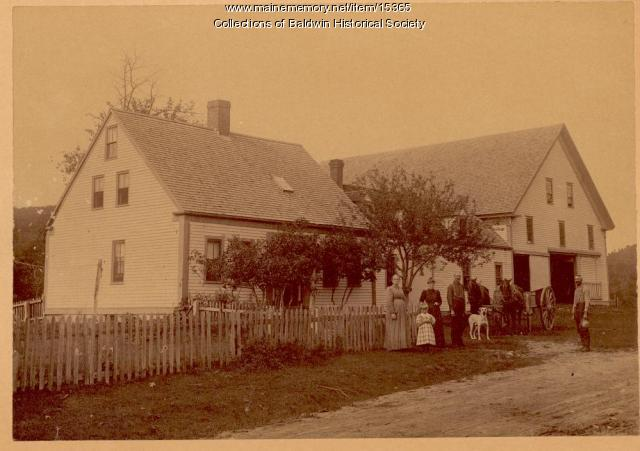 Elbridge G. Noble Homestead, West Baldwin