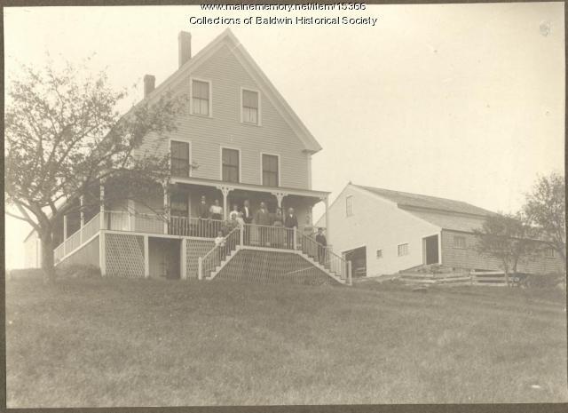 Jewell home, Sebago, ca. 1910